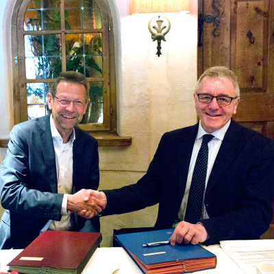"""""""Felicitous symbiosis"""": contract extended"""