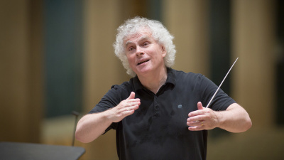 Sir Simon Rattle (Foto: BR / Peter Meisel)